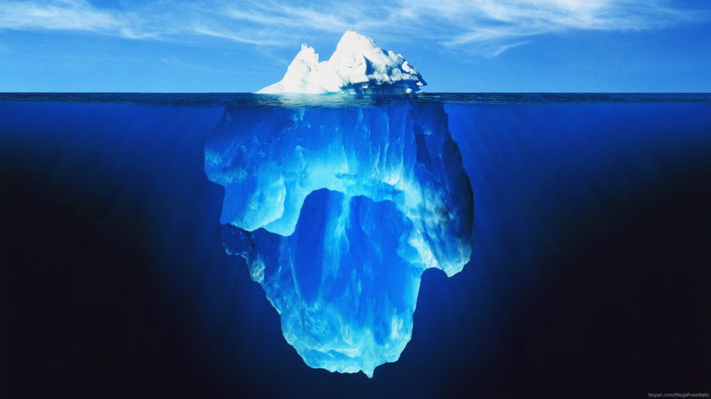 Iceberg Full HD Wallpaper