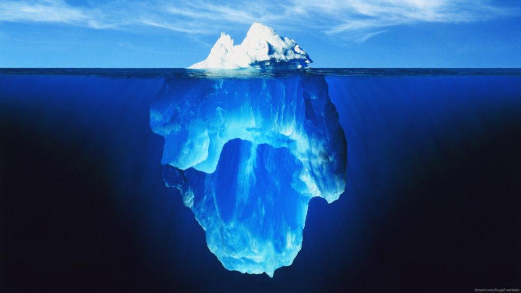 Iceberg Full HD Wallpaper