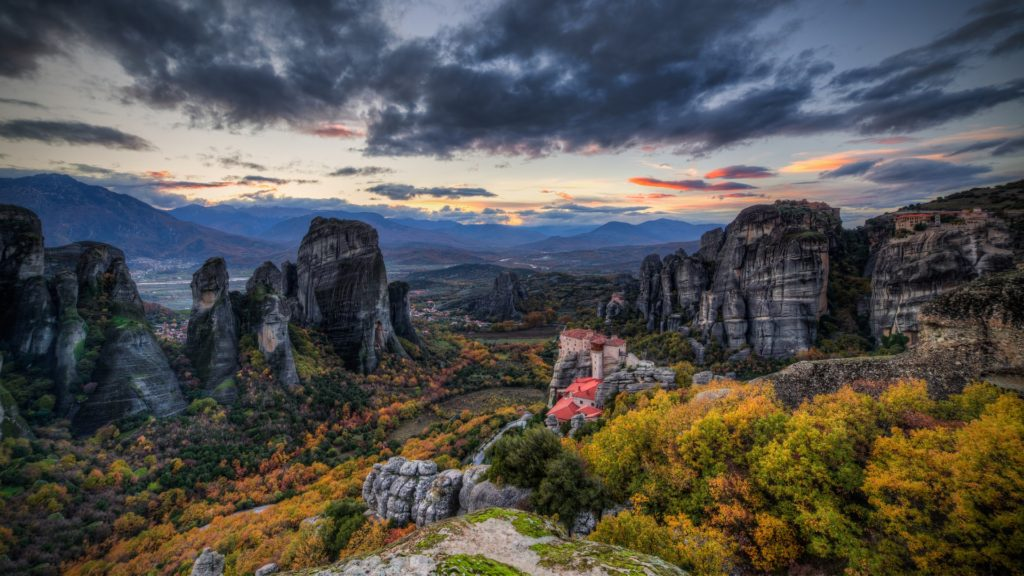 Meteora Full HD Wallpaper 1920x1080