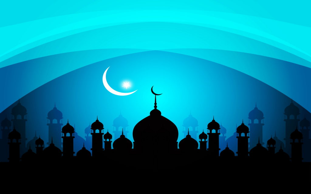 Mosque Widescreen Wallpaper