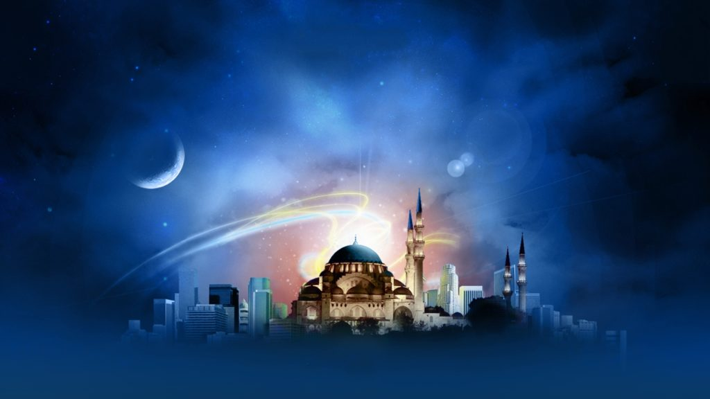 Mosque Full HD Wallpaper