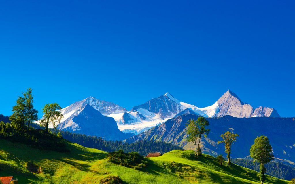 Mountain Widescreen Background