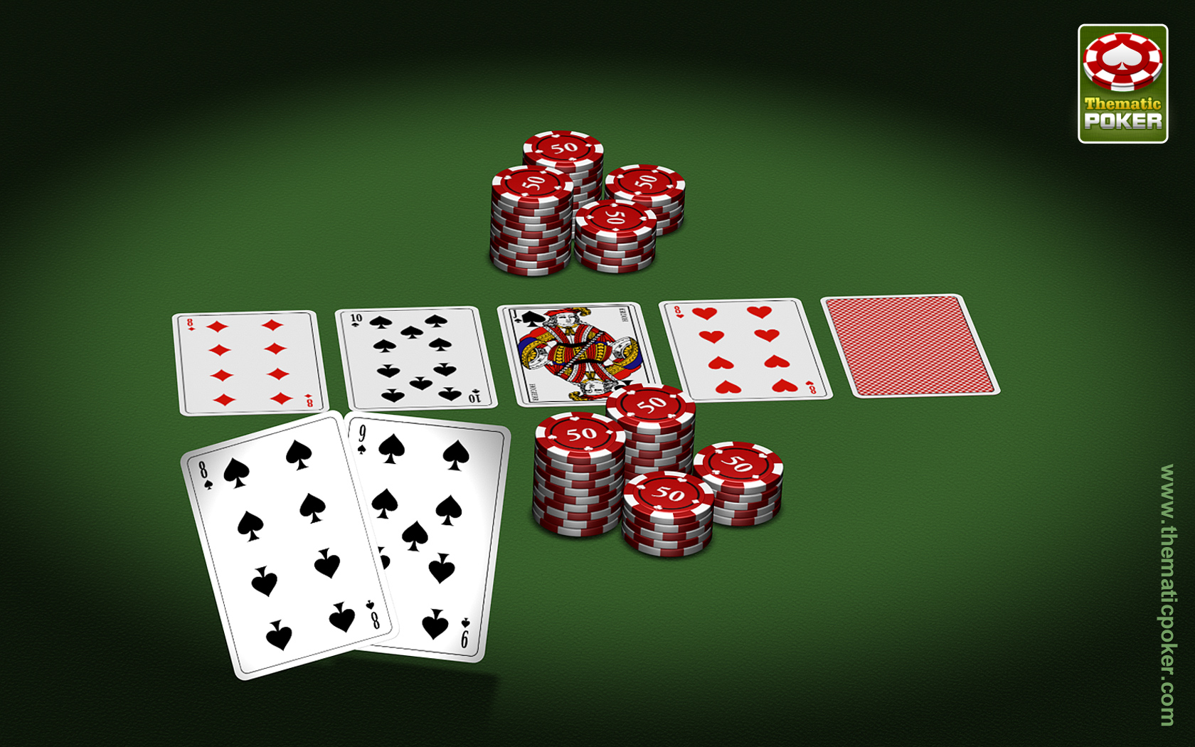 Poker on the move with your iOS device.