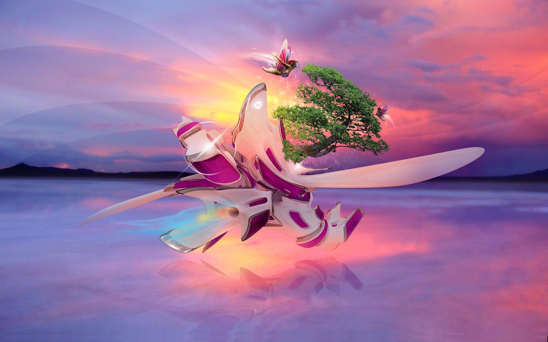 Backgrounds Surrealism Art Hd Desktop Wallpaper Widescreen: Surreal Wallpapers, Pictures, Images