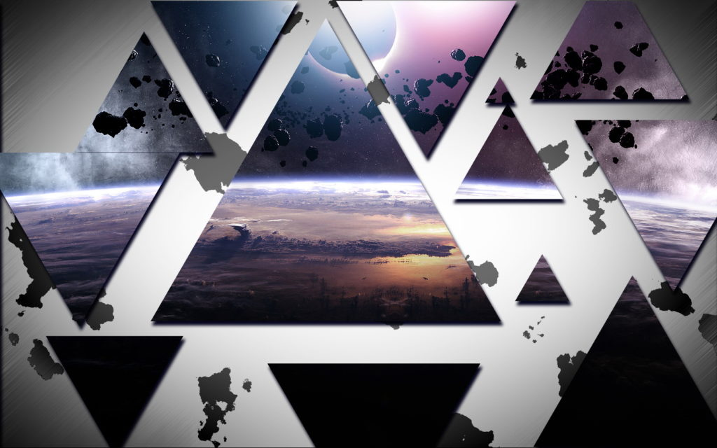 Triangle Widescreen Wallpaper