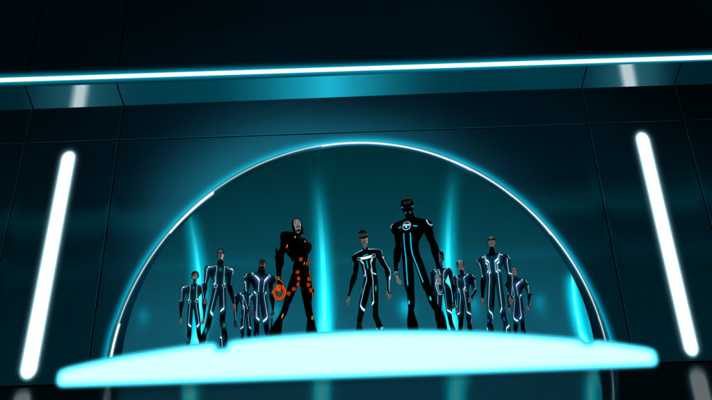 Tron: Uprising Dual Monitor Wallpaper