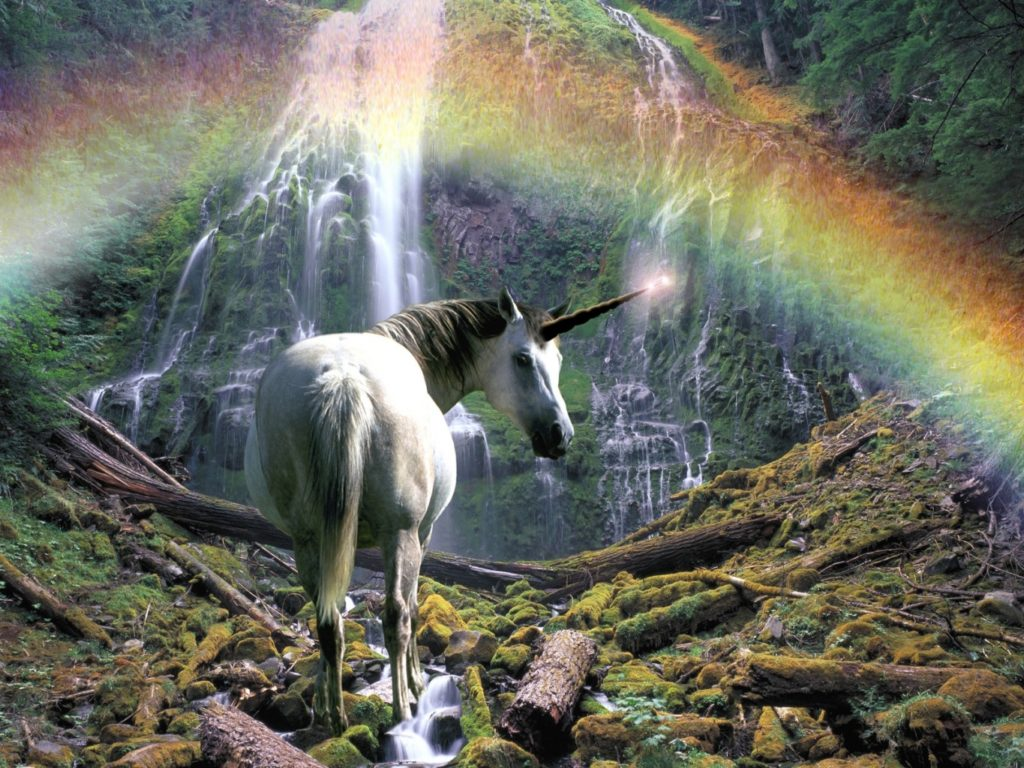 Unicorn Background