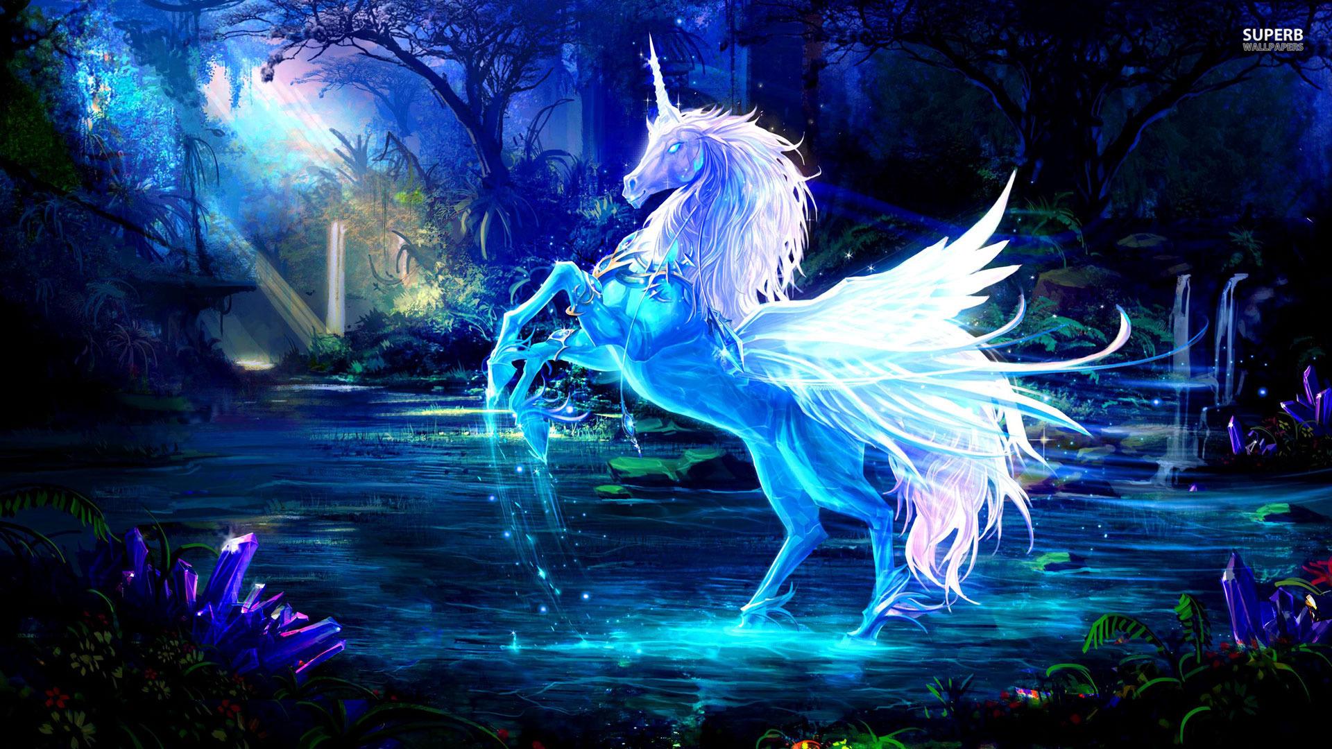 Hd wallpaper unicorn - Unicorn Full Hd Background