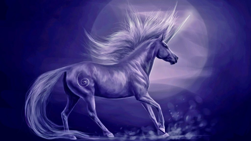 Unicorn Full HD Background