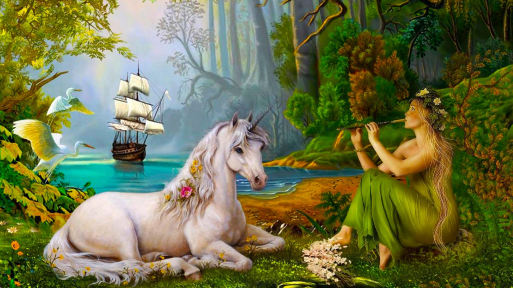Unicorn HD Full HD Wallpaper