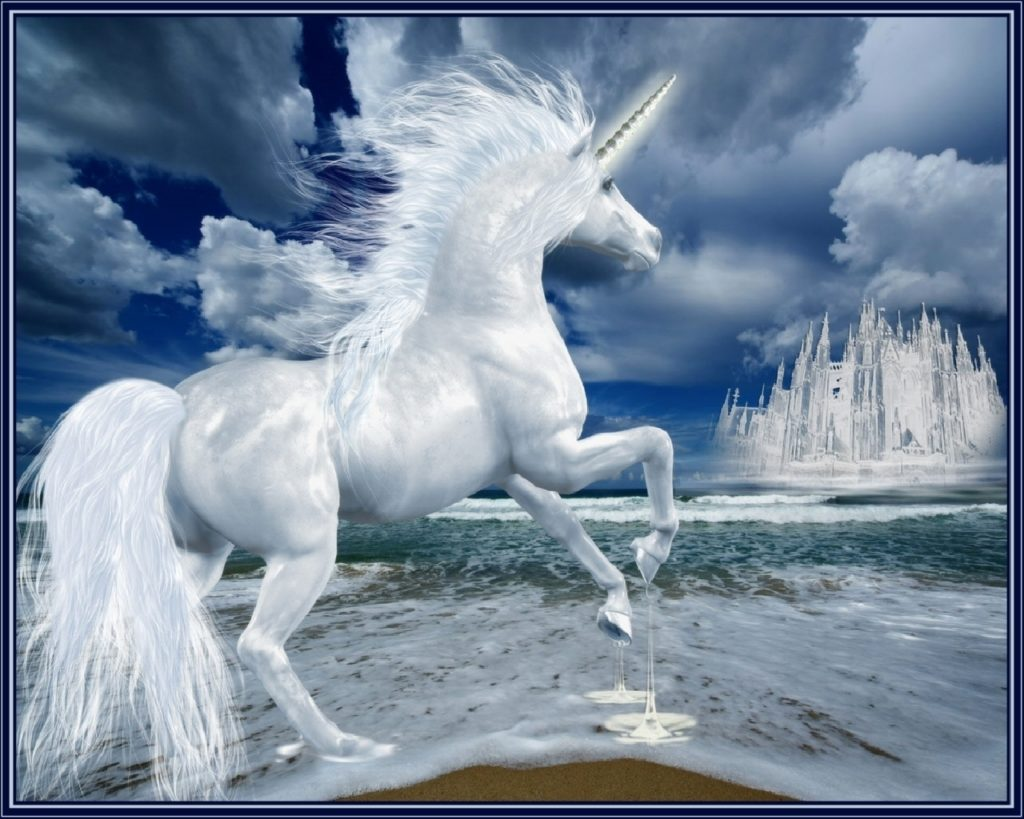 Unicorn Widescreen Background