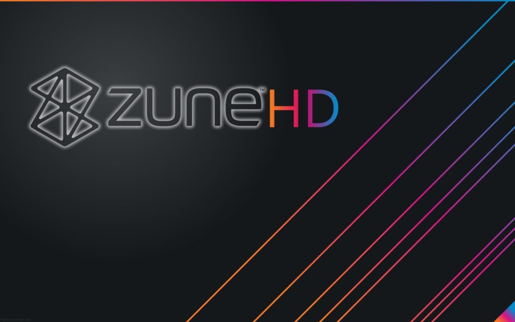 Zune Widescreen Wallpaper