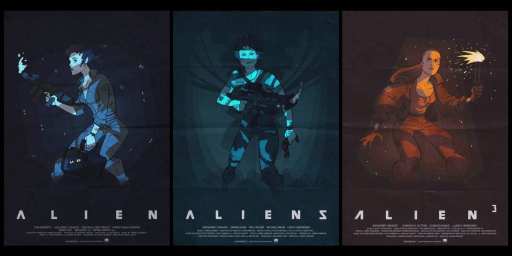 Alien Wallpaper 1600x800