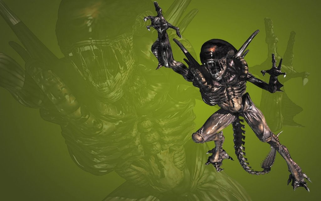 Alien Widescreen Wallpaper 1280x800