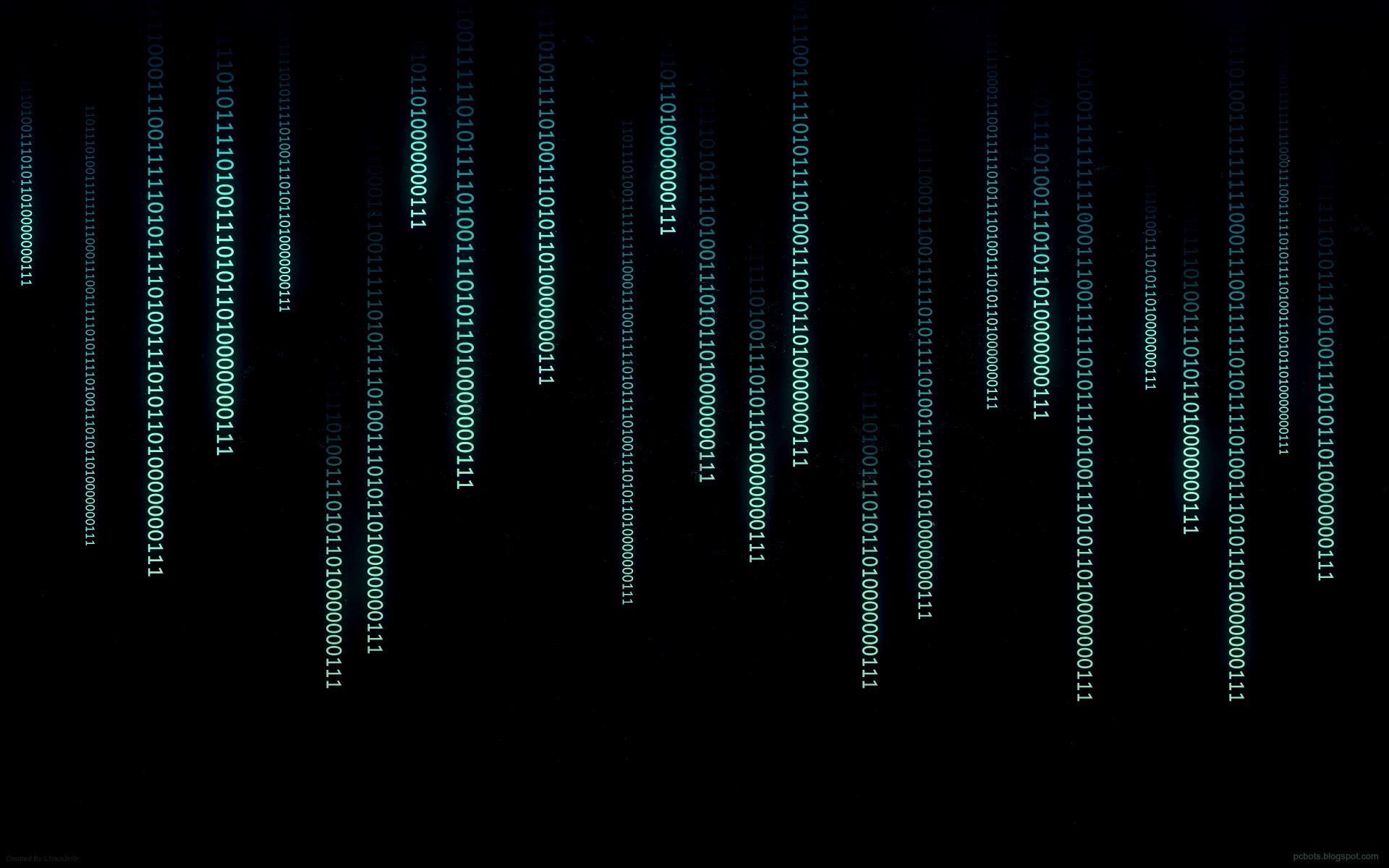 binary widescreen wallpaper