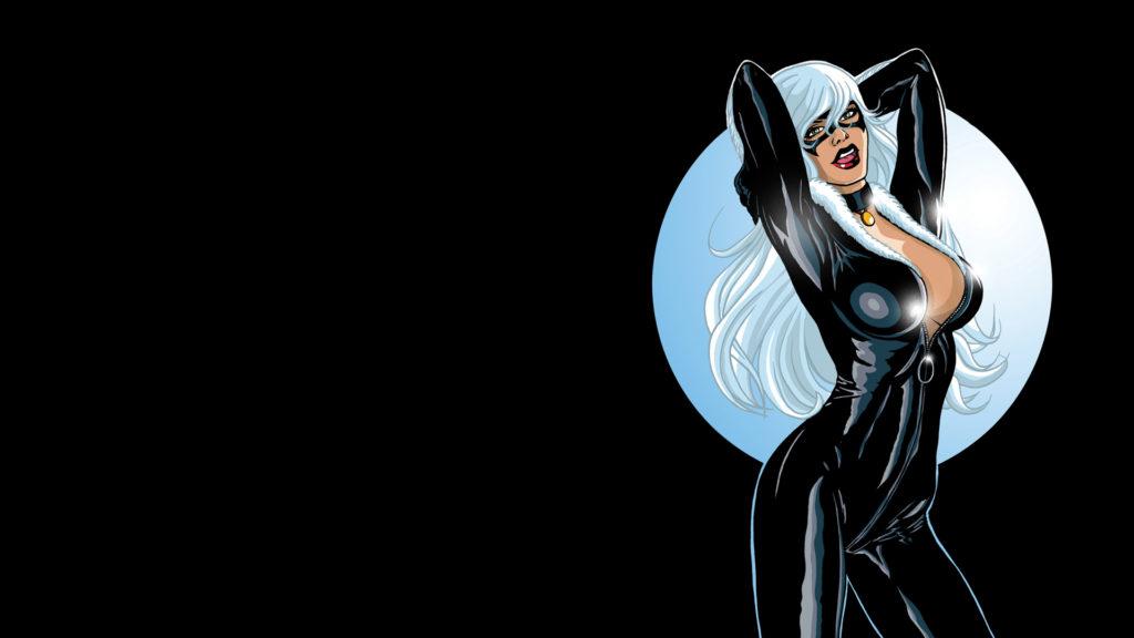 Black Cat Full HD Wallpaper 1920x1080