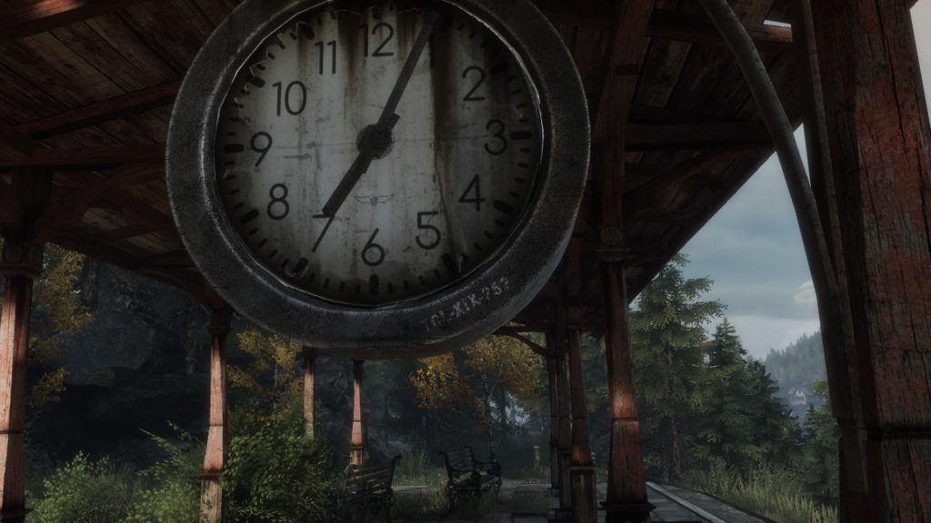 Clock Full HD Wallpaper