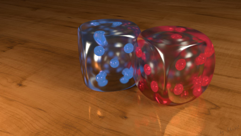 Dice Full HD Background