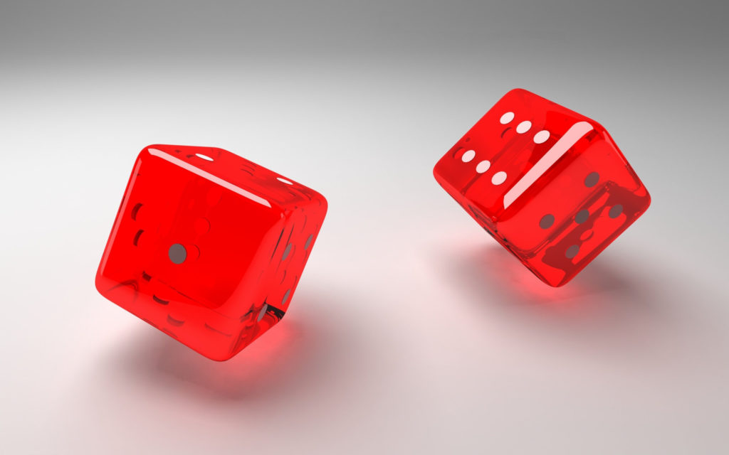 Dice Widescreen Background