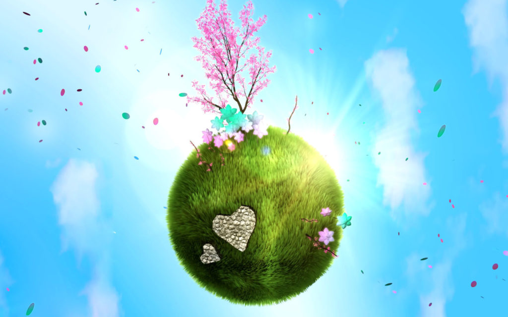 Earth Day Widescreen Wallpaper