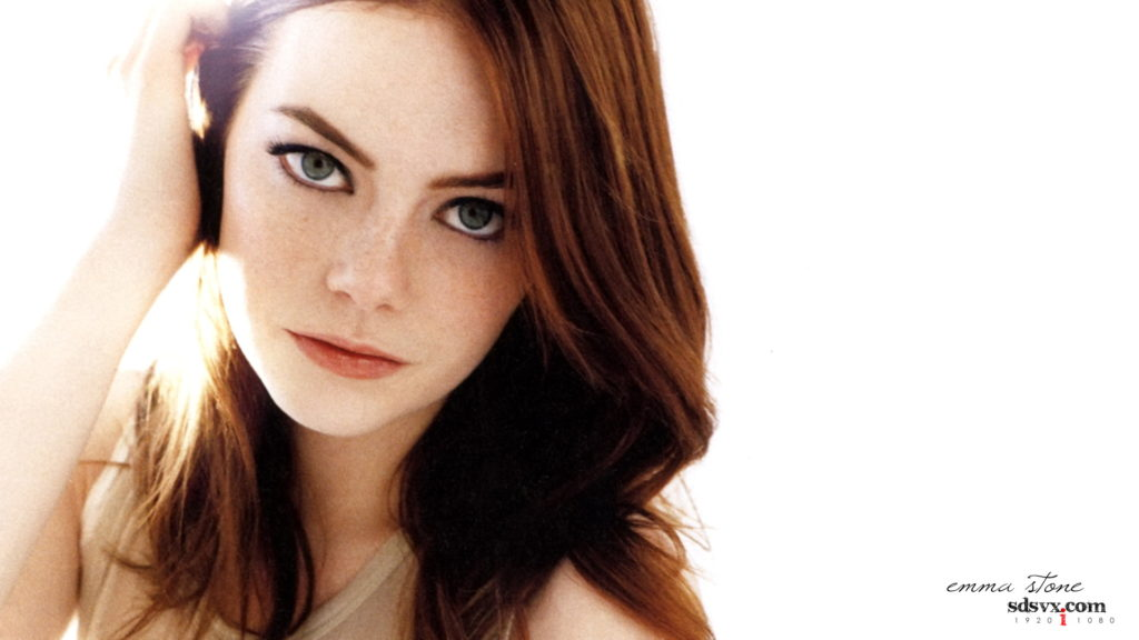 Emma Stone Full HD Background