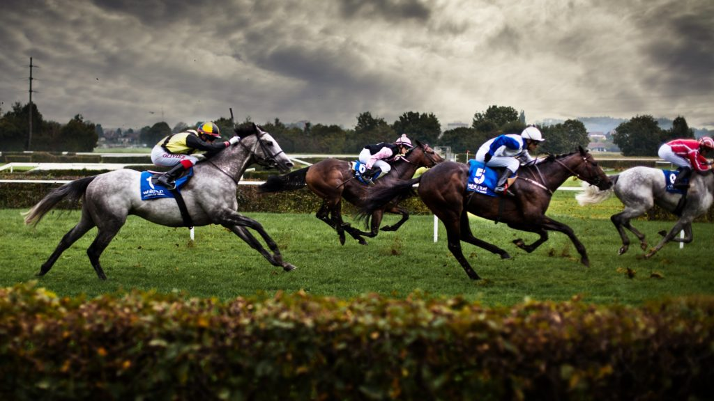 Horse Racing 4K UHD Wallpaper