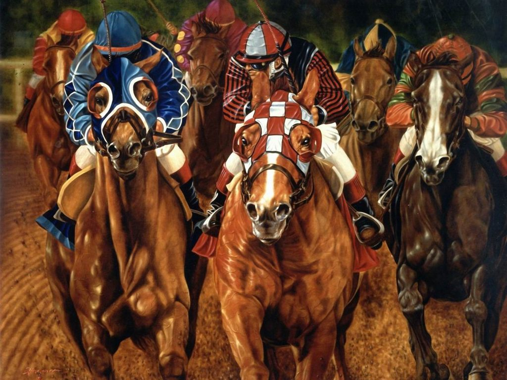 Horse Racing Wallpaper