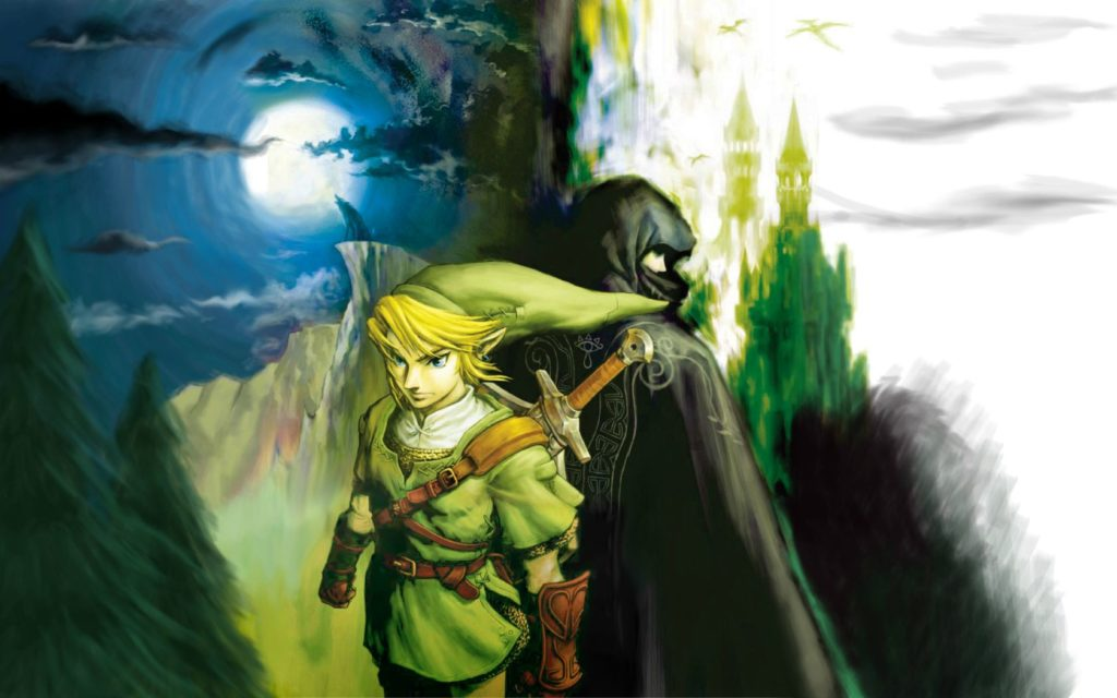 The Legend Of Zelda Widescreen Wallpaper