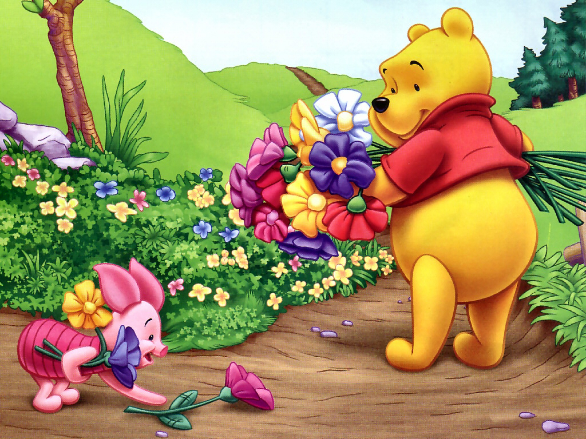 It's just a photo of Bright Pics of Winny the Pooh