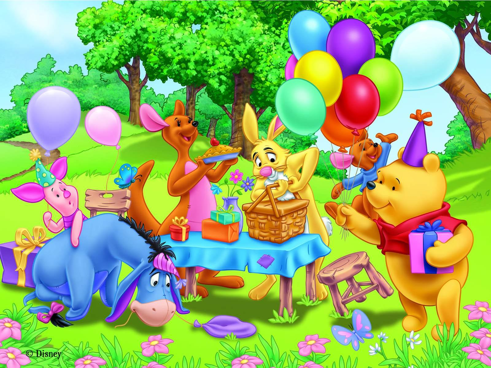 Cartoon Character Design For Tarpaulin : Winnie the pooh backgrounds pictures images