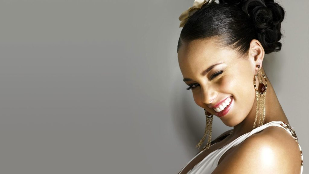 Alicia Keys Full HD Wallpaper