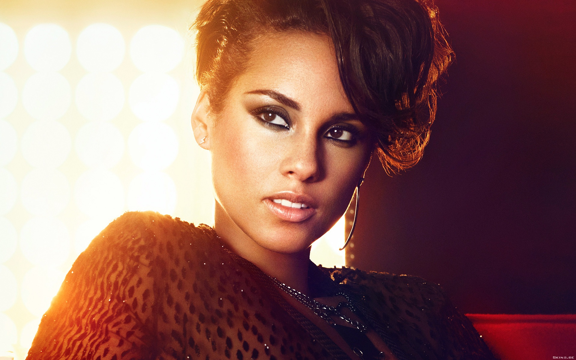 Alicia Keys Widescreen Wallpaper