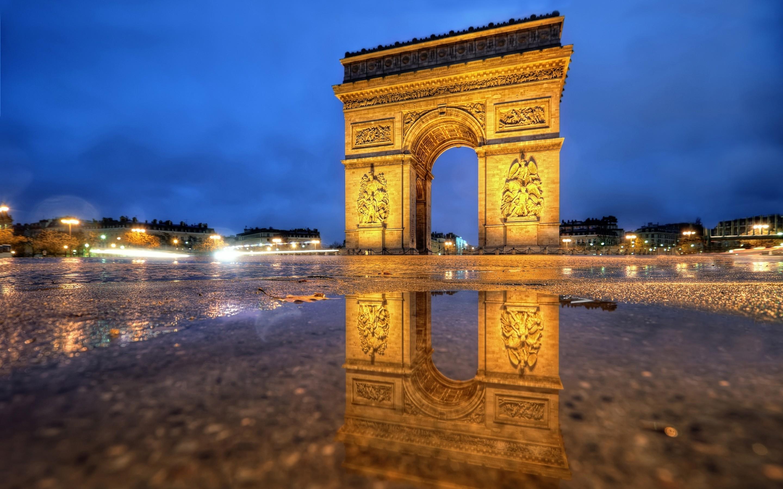 Arc De Triomphe Wallpa...