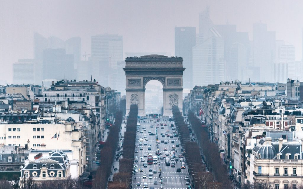 Arc De Triomphe Widescreen Wallpaper 2880x1800