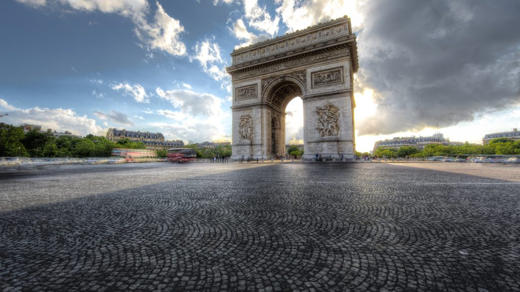 Arc De Triomphe 4K UHD Wallpaper 3840x2160