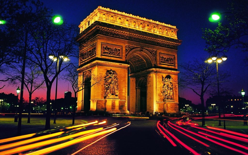 Arc De Triomphe Widescreen Wallpaper 1920x1200