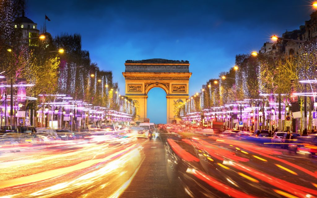 Arc De Triomphe Widescreen Wallpaper 2560x1600