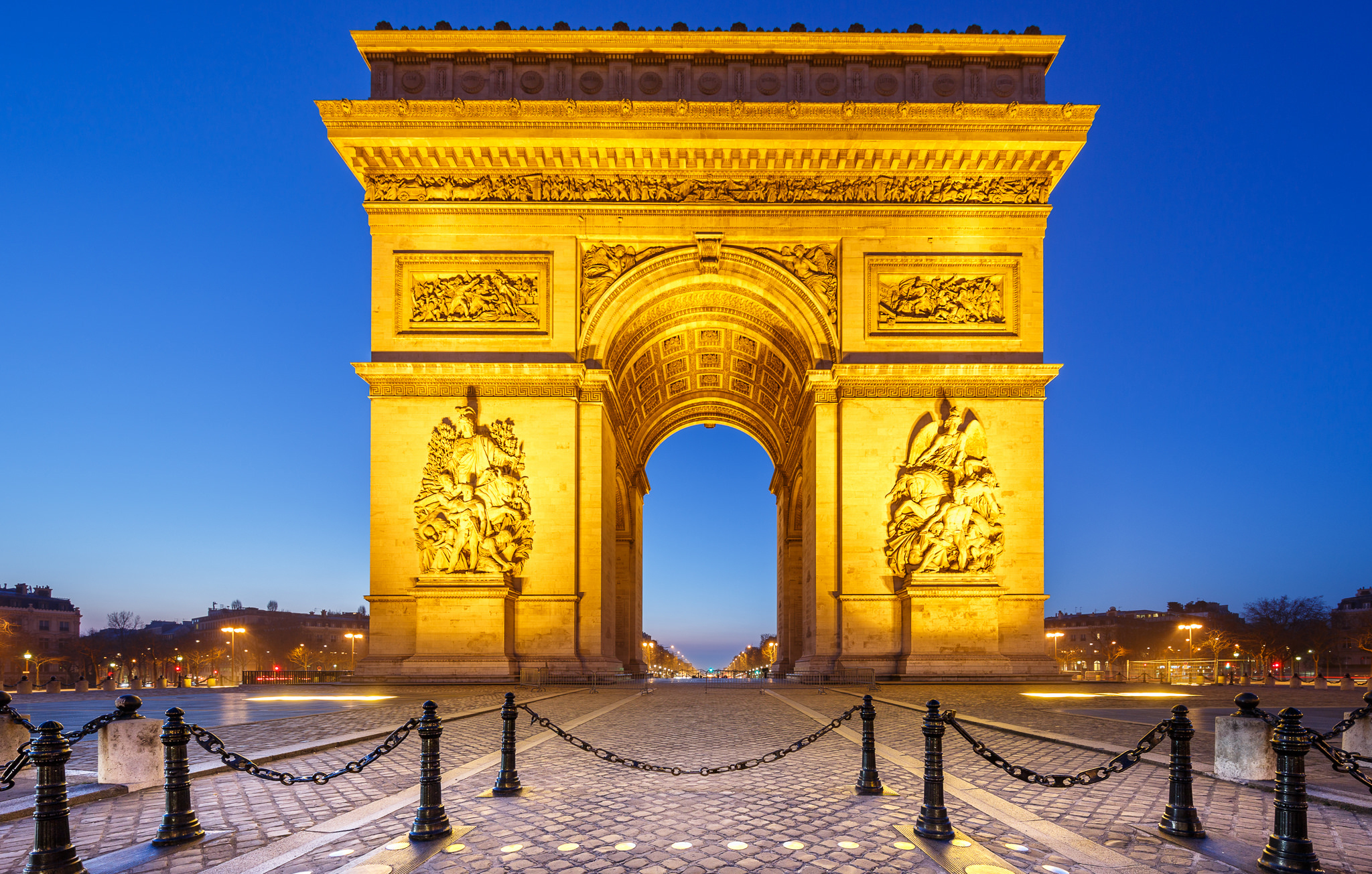 arc de triomphe wallpapers pictures images. Black Bedroom Furniture Sets. Home Design Ideas