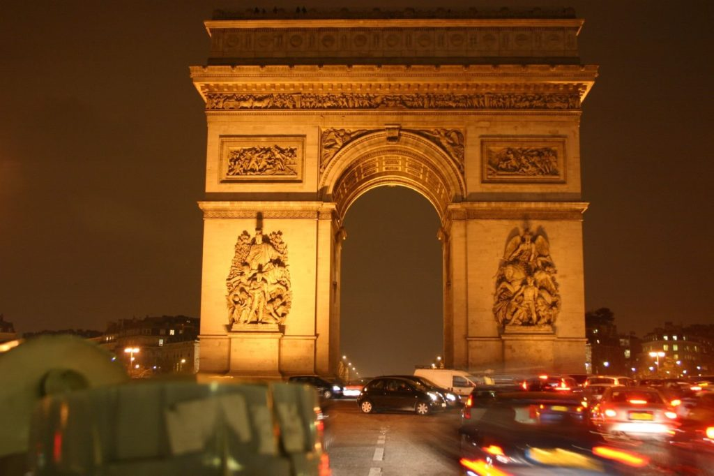 Arc De Triomphe Wallpaper 1600x1066