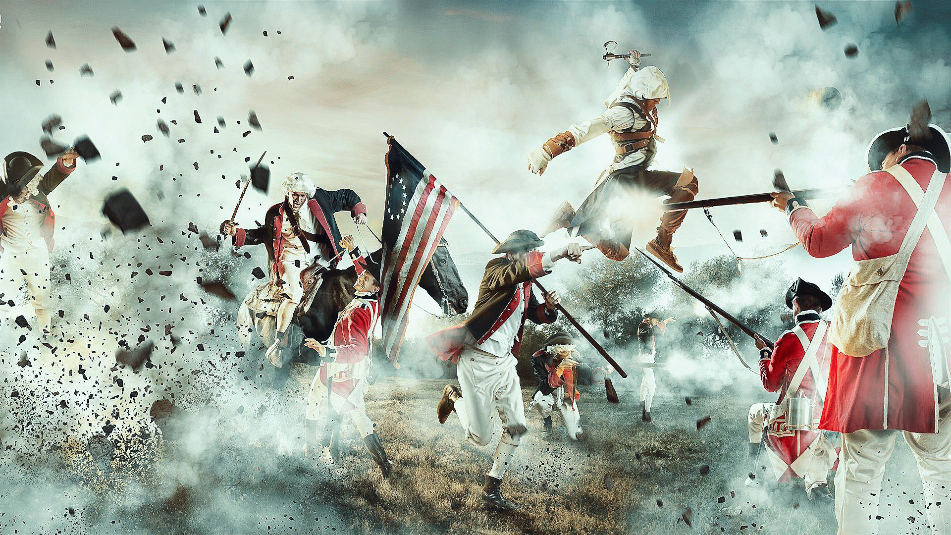 assassin 39 s creed iii wallpapers pictures images. Black Bedroom Furniture Sets. Home Design Ideas