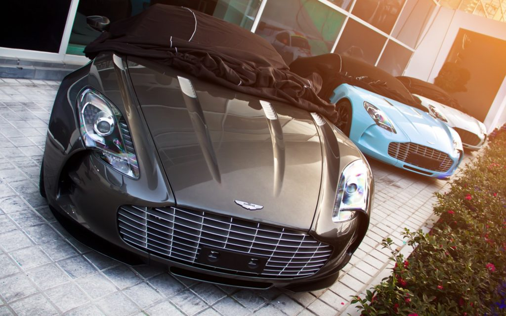 Aston Martin One-77 Widescreen Wallpaper