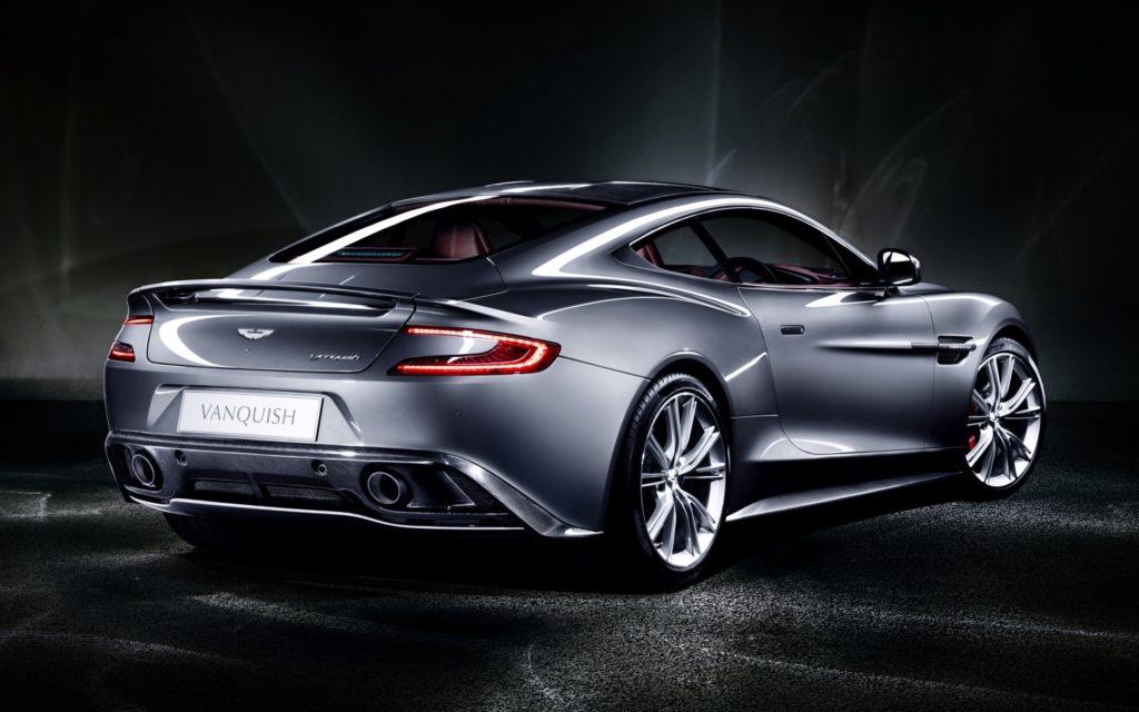 Aston Martin Vanquish Widescreen Wallpaper