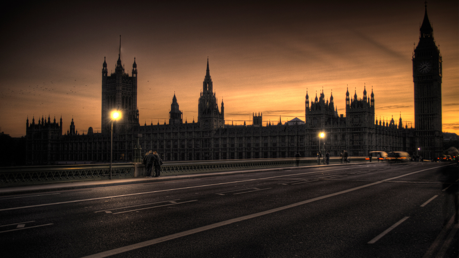 Beautiful Wall Clock Big Ben Wallpapers Pictures Images