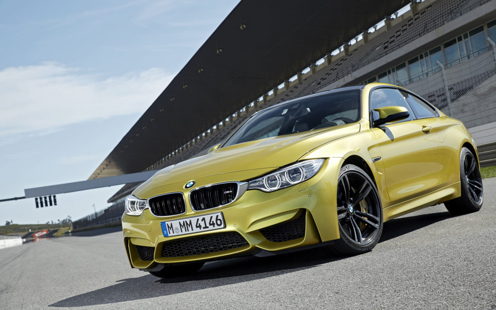 BMW M4 Widescreen Wallpaper