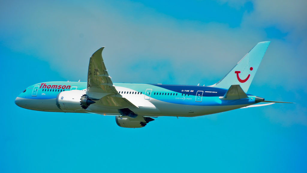 Boeing 787 Dreamliner Full HD Wallpaper