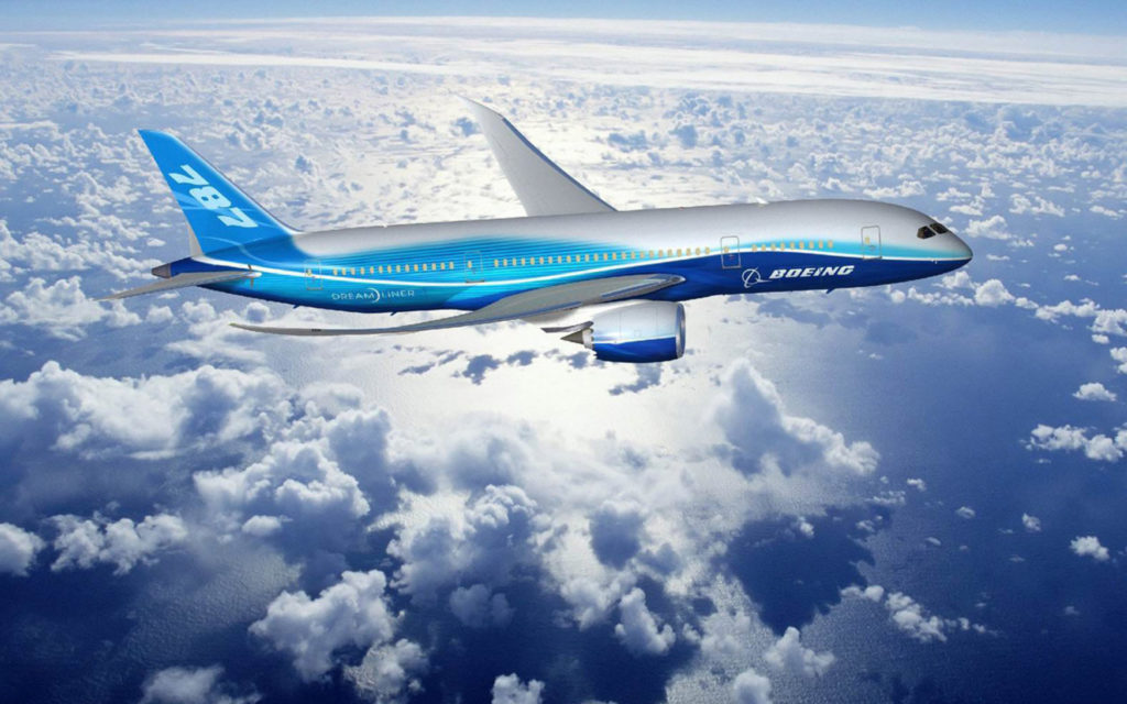 Boeing 787 Dreamliner Widescreen Wallpaper