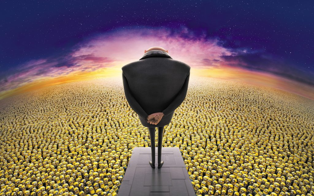 Despicable Me 2 Widescreen Wallpaper 2560x1600
