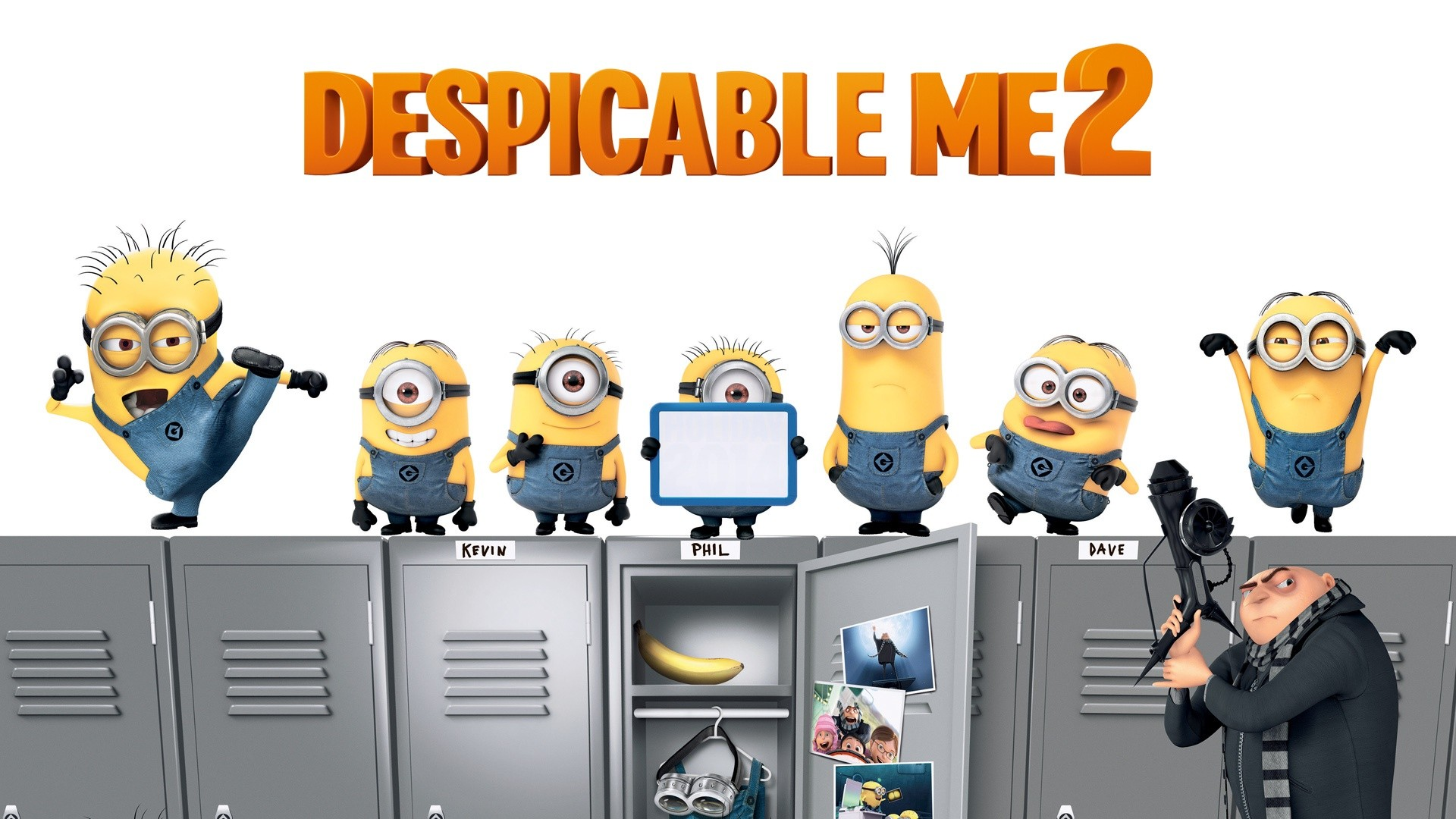 Despicable Me 2 Full HD Wallpaper 1920x1080