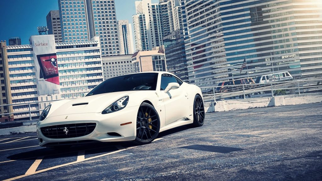 Ferrari California Full HD Wallpaper