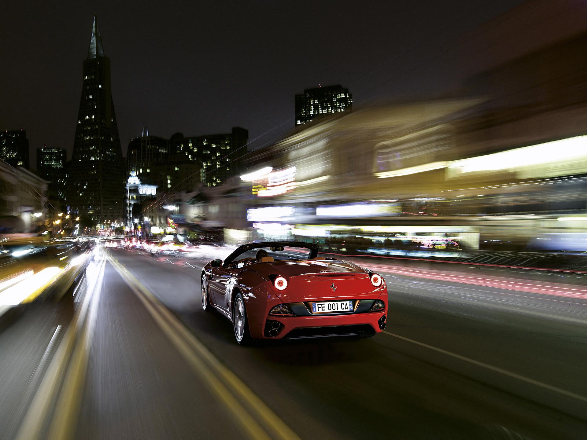 Download 1366X768 Ferrari California Wallpaper  PNG